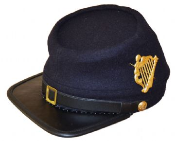 Union Irish Brigade Blue Kepi With Badge